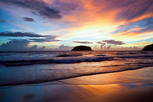 природа, закат, бесплатные изображения